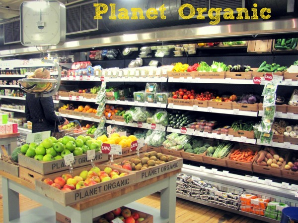 Destination health food store planet organic for Cuisine store