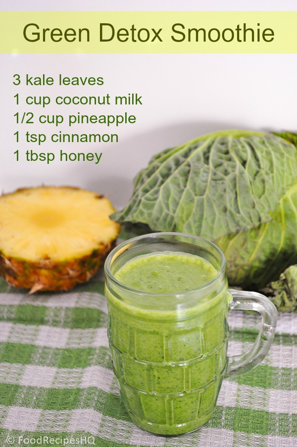 Post image for Quick Green Detox Smoothie for a Healthier Breakfast