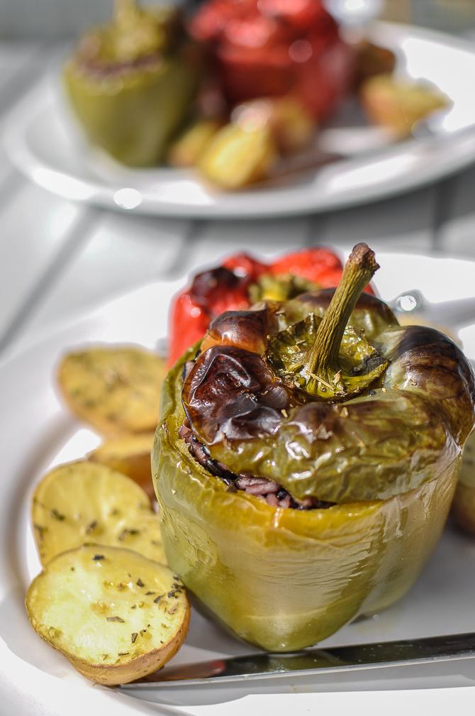 My Greek-Style Stuffed Peppers - Food Recipes HQ