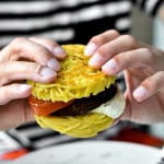 Spaghetti Burger, the Italian response to NYC's ramen burger