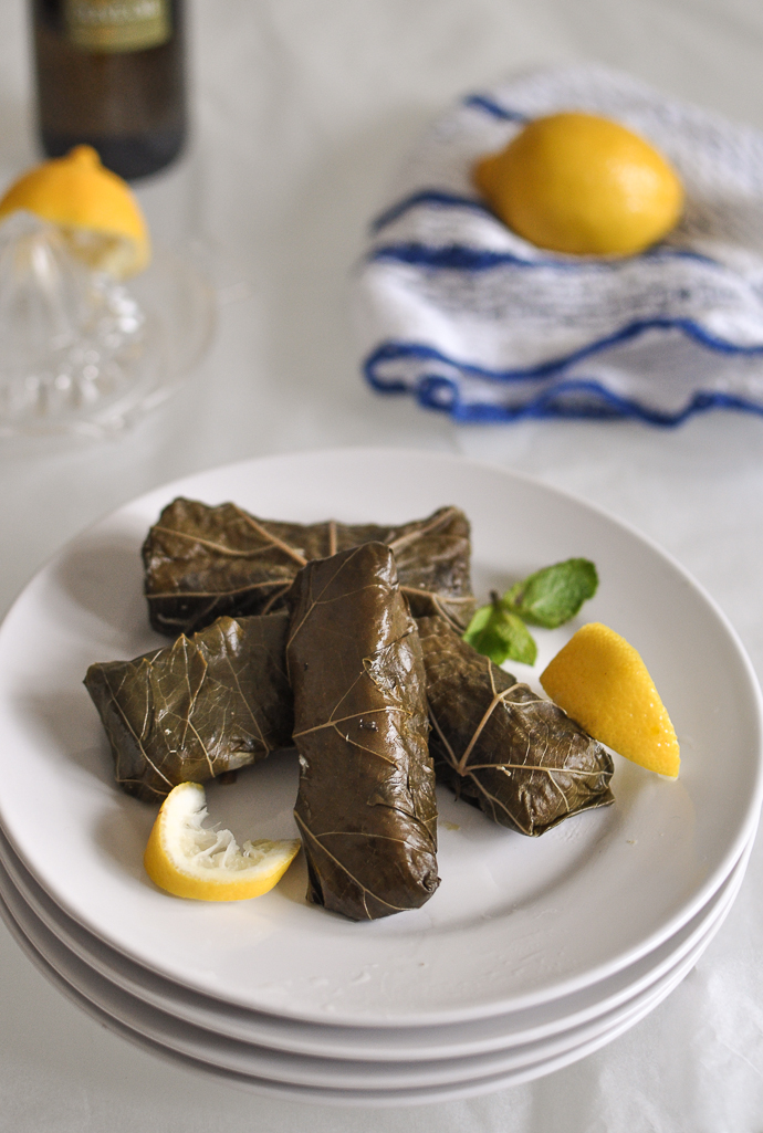 From the Vine with Love – Dolmades, Stuffed Grape Leaves