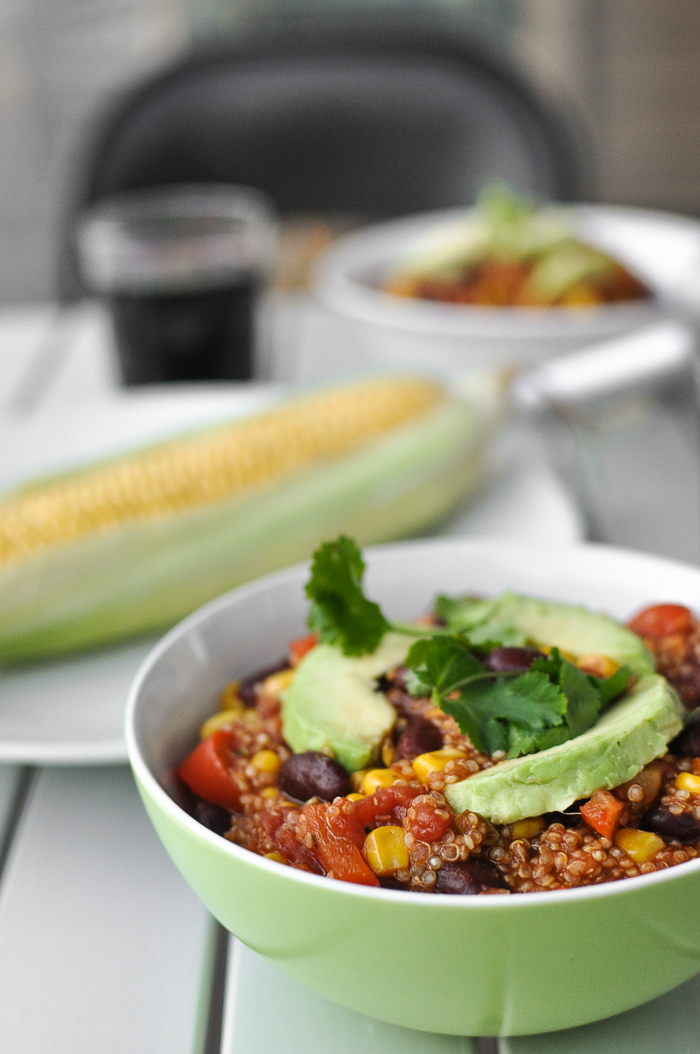 Easy Vegetarian Quinoa Chili - Food Recipes HQ