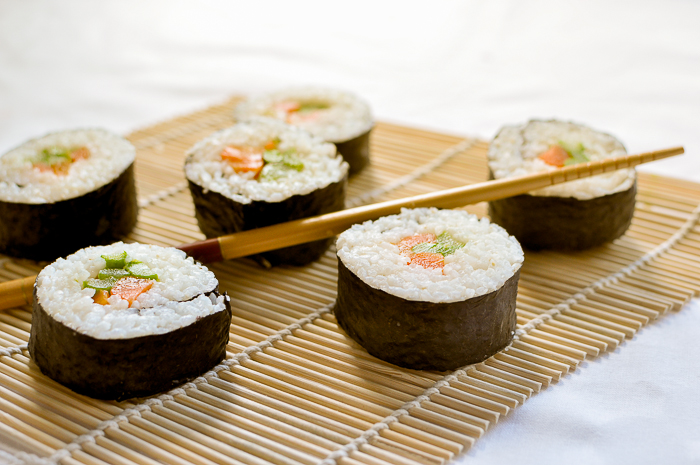 how to cook sushi rice on stove